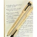 Eco friendly recycled wood pen