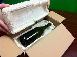 EcoCradle wine shipper