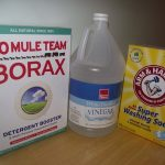 Borax, vinegar, washing soda -- green spring cleaning