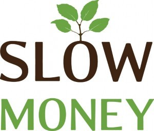 slow money logo. clean tech investment