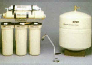 reverse osmosis filter under counter