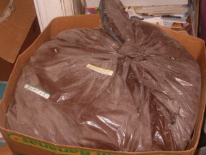 Bag of diapers