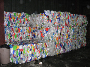 Recycling bales
