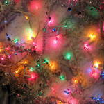 Christmas tree lights -- doing recycling wrong