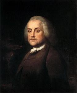 Benjamin Franklin portrait, 1759