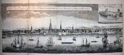 Philadelphia in 1761