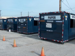 recycling dropoff center -- plastic recycling industry