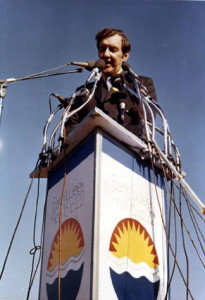 Earth Day 1970 speaker
