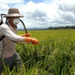 pesticide ground spraying