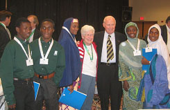 Norman Borlaug in Africa