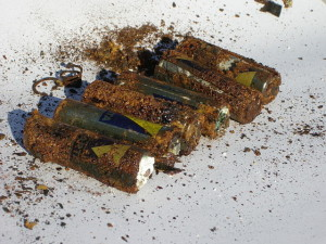 corroded batteries