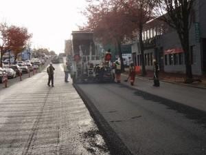 recycled plastic asphalt
