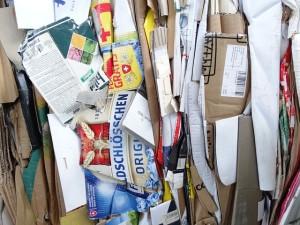 waste cardboard