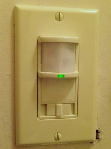 residential occupancy sensors. save energy save money