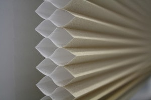 Honeycomb blinds. save money save energy