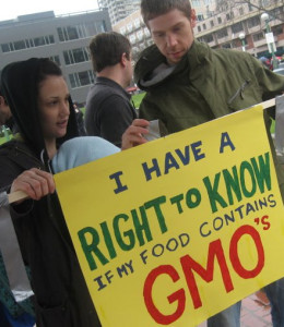 GMO right to know rally