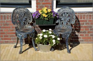 Patio furniture--uses for washing soda