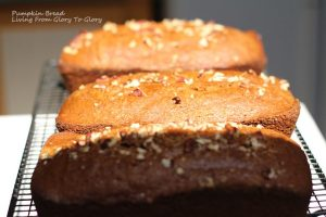 Pumpkin bread--uses for baking soda