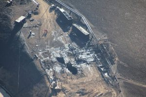 Aliso Canyon gas leak site