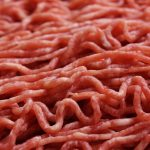 Ground beef. sustainable beef