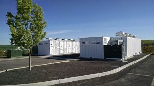 Vanadium flow battery--energy storage