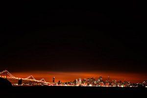 sky glow, light pollution