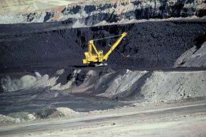 Surface coal mine, Wyoming. Trump stance on coal. War on coal