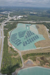 Hickory Ridge Landfill. closed landfill reclamation