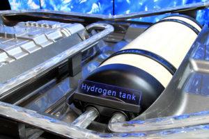 Hydrogen fuel cells. Toyota