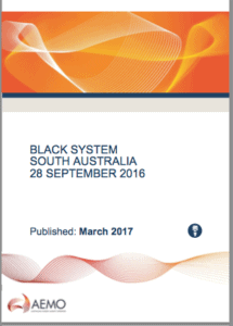 AEMO report. South Australia wind energy