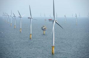 Sheringham Shoal wind farm. big oil wind industry