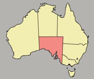 South Australia. Blackout