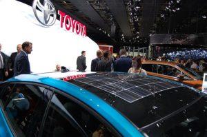 Solar Prius concept car