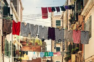 clothes lines. tips to declutter your home