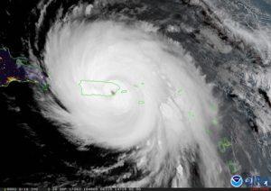 Hurricane Maria. renewable energy in Puerto Rico