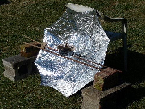 Parabolic Mirror Solar Technology Not Ready For Home Use