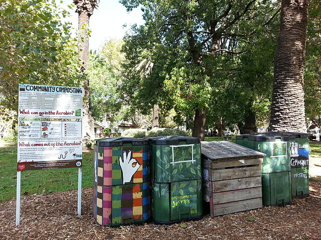 Food Waste Collection For Community Composting
