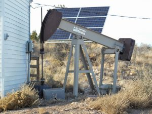 Solar System Water Pump By House